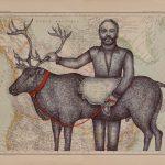 Dimoné et son caribou